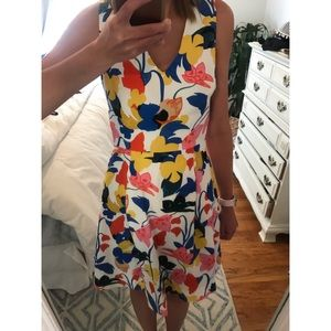 J.Crew A-Line Dress In Morning Floral Style